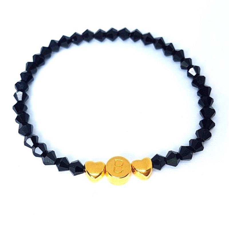 Individuell Black Elegance - Armband