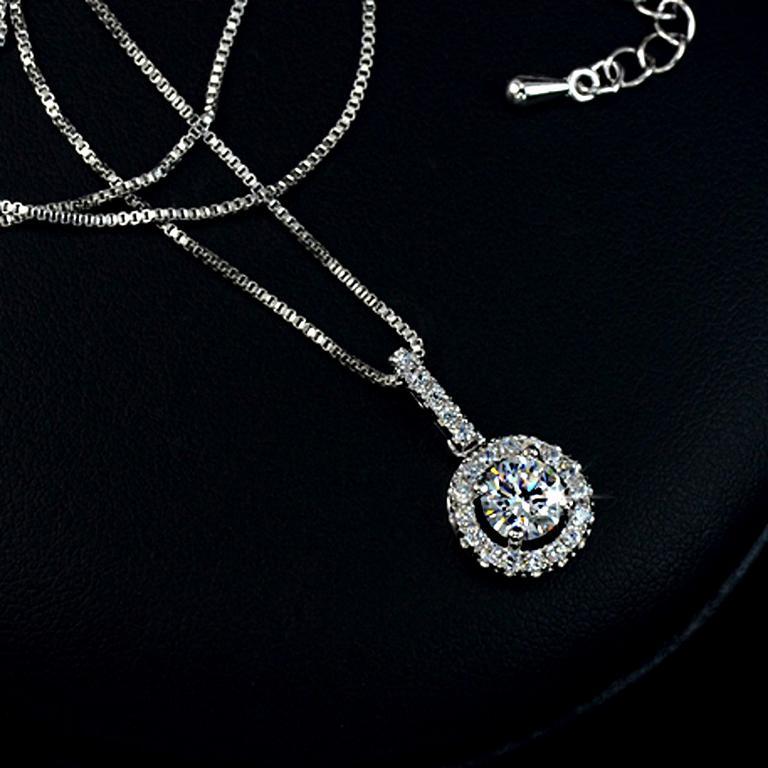 Brilliant Shine - Halskette/925 Silber
