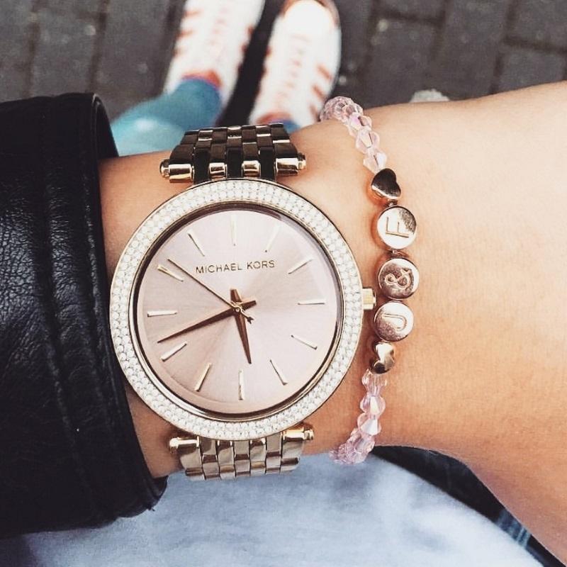 'Lieblingsmensch' Rosé Armband