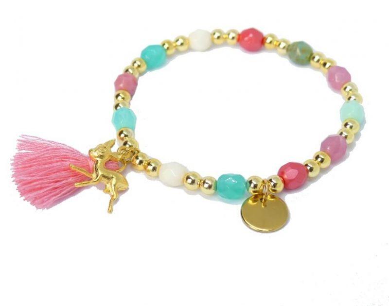 'Ibiza Glam Rosa' Armband