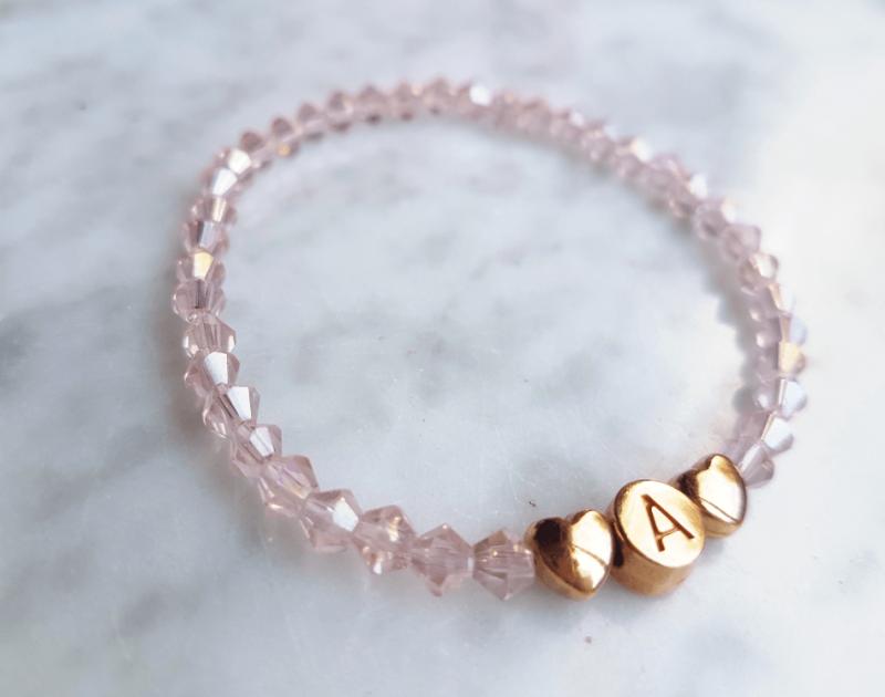 Individuell Light Rosé Armband
