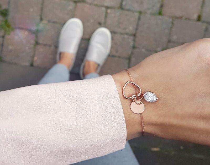 'Favourite Combi' Roségold Armband