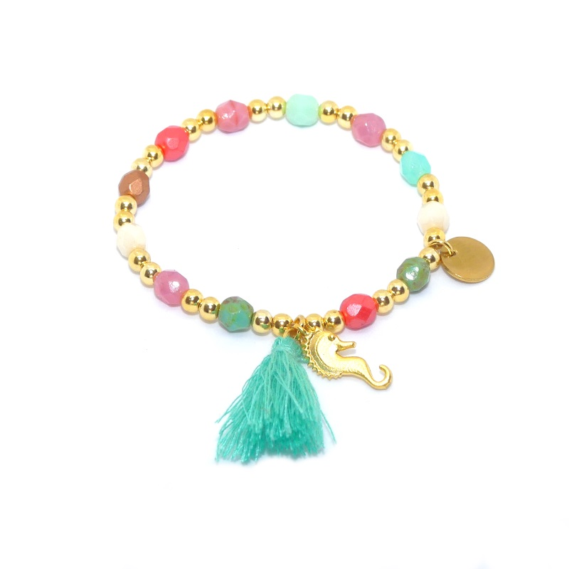 Aqua Glam Türkis - Armband