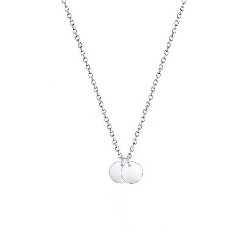 DEINE GRAVUR - Initialienkette 925 Silber