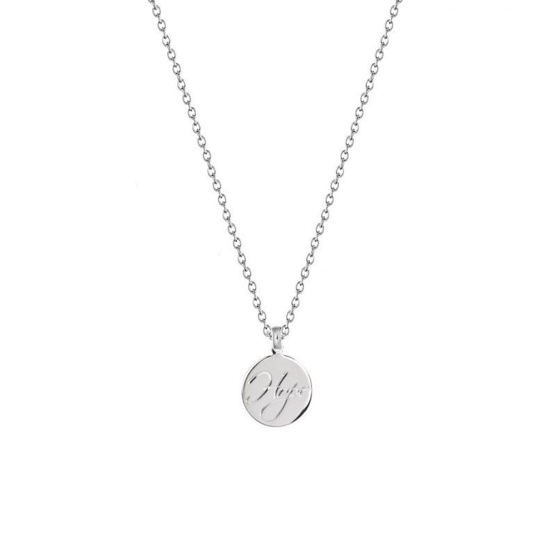 HOPE - Gravur Kette 925 Silber