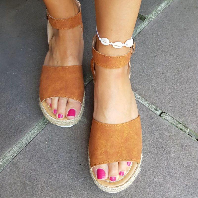 Kauri-Muschel Fußkettchen