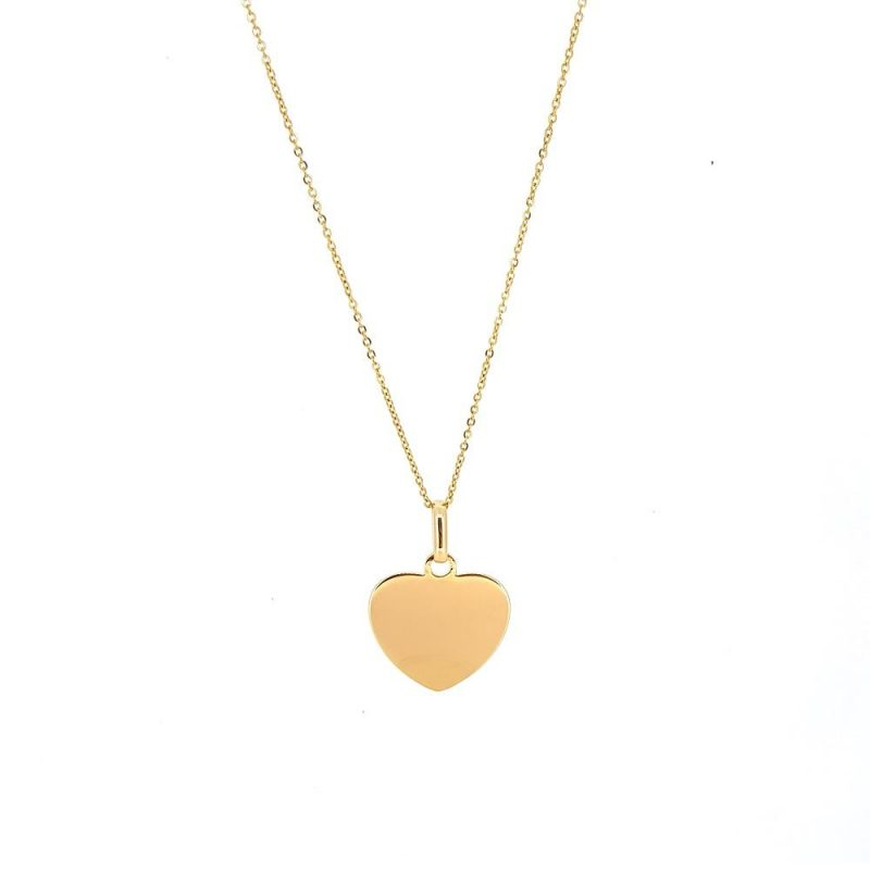 Herzkette - Golden Heart / Gold filled