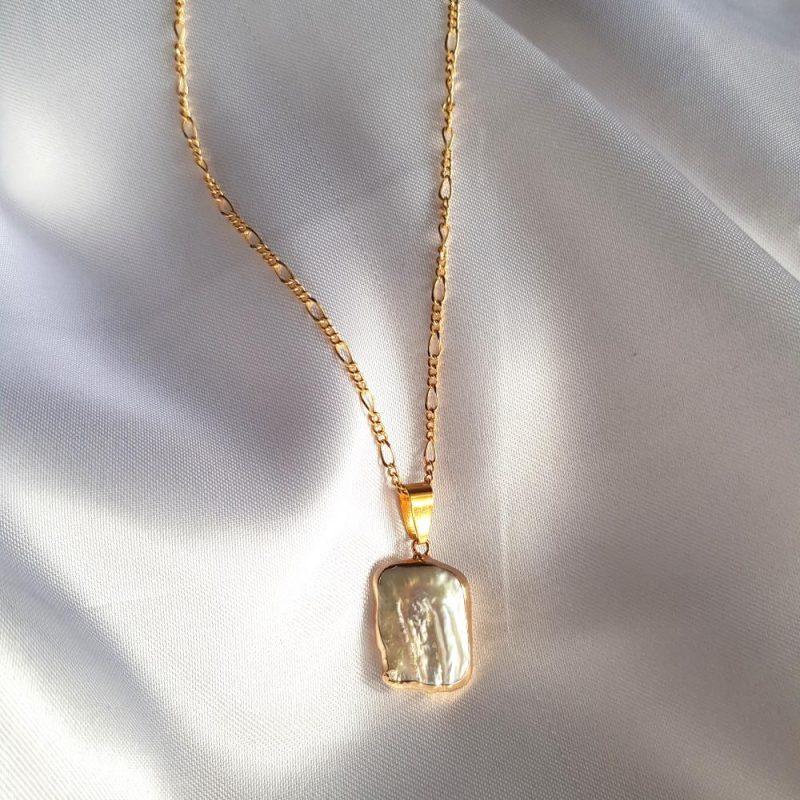 Golden Sea - Halskette